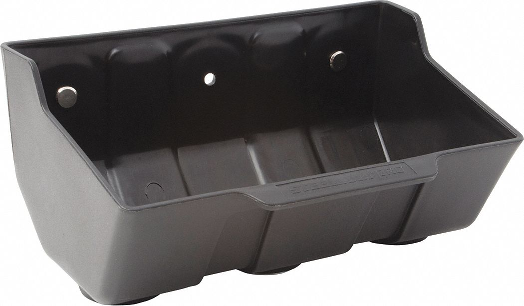 "Parts Tray, No-Mar Plastic Type, 7-1/4"" L"