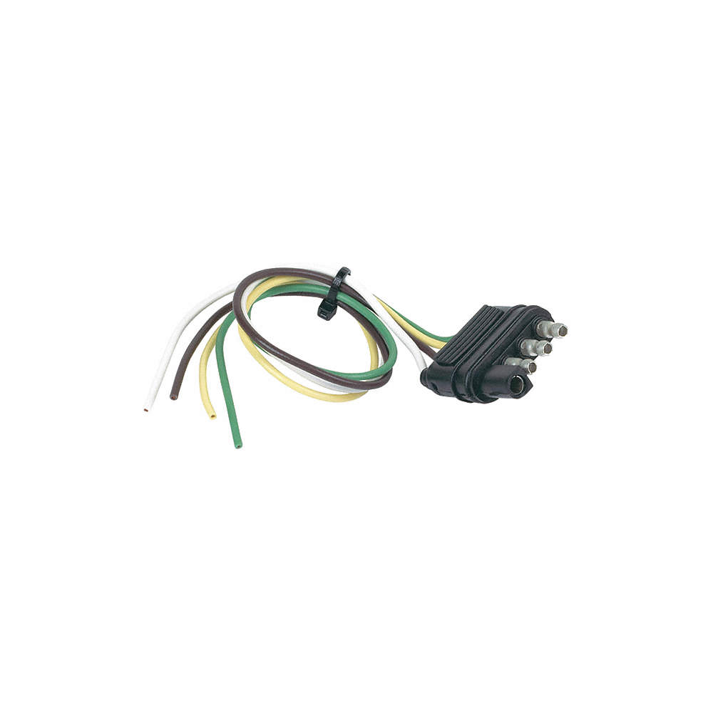 HOPKINS TOWING SOLUTIONS 48115 Flat Electric Connector,4