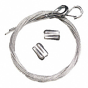 Safety Cable,  For Use With Hanging Speakers,  Includes Cable