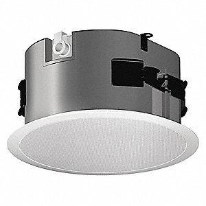 In-Ceiling Speaker,  64 Watt (RMS),  16 Impedance (Ohms),  8 Overall Height (In.)