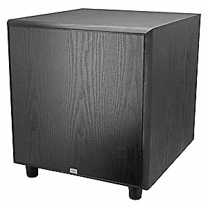 "Subwoofer,  100W,  17"" Nominal Length,  20"" Nominal Outside Width,  20"" Nominal Height"