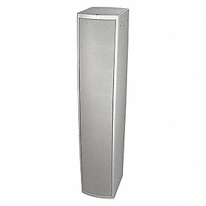 Speaker,  300 Watt (RMS),  4 Impedance (Ohms),  13 Overall Height (In.),  44 Overall Length (In.)