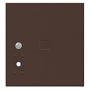 Replacement Door and Lock for 4C Horizontal Mailbox; Includes: (3) Keys