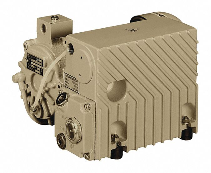 1 1/4 hp HP Vacuum Pump; Inlet Size: 1/2 in NPT, Outlet Size: 1/2 in NPT