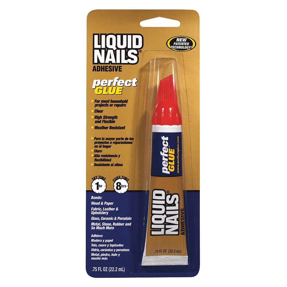 LIQUID NAILS Clear 0.75 oz. Repair Adhesive, 6 to 8 hr. Curing Time ...