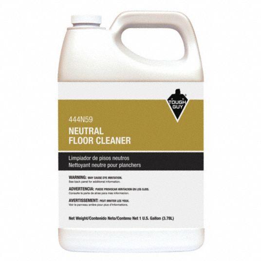 Tough Guy Neutral Floor Cleaner Liquid 1 Gal Bottle 129 Gal Rtu Yield Per Container 444n59 444n59 Grainger