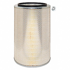 "Air Filter, Round, 18-21/32"" Height, 18-21/32"" Length, 11-15/16"" Outside Dia."