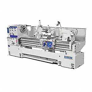 "Lathe,  Metal Turning,  220/440 Voltage,  7-1/2 Motor HP,  49"" Overall Height,  105"" Overall Length"
