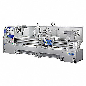 "Lathe,  Distance Between Centers 160"",  Voltage 220,  15,  Min. Spindle Speed 10 rpm"