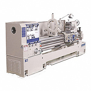 "Lathe,  Metal Turning,  220 Voltage,  15 Motor HP,  52"" Overall Height,  137"" Overall Length"