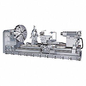 "Lathe,  Metal Turning,  220 Voltage,  30 Motor HP,  58-45/64"" Overall Height"