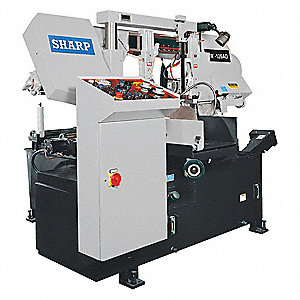 5 HP Horizontal Band Saw, Voltage: 220, Max. Blade Length: 100-3/4""