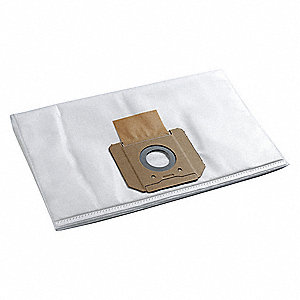 Vacuum Bag,  Fleece,  1-Ply,  Standard Bag Filtration Type