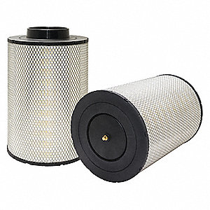 "Air Filter, Round, 16-15/16"" Height, 16-15/16"" Length, 10-9/16"" Outside Dia."