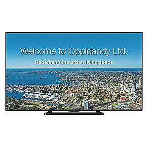 "65"" LCD Commercial, 60 Hz"