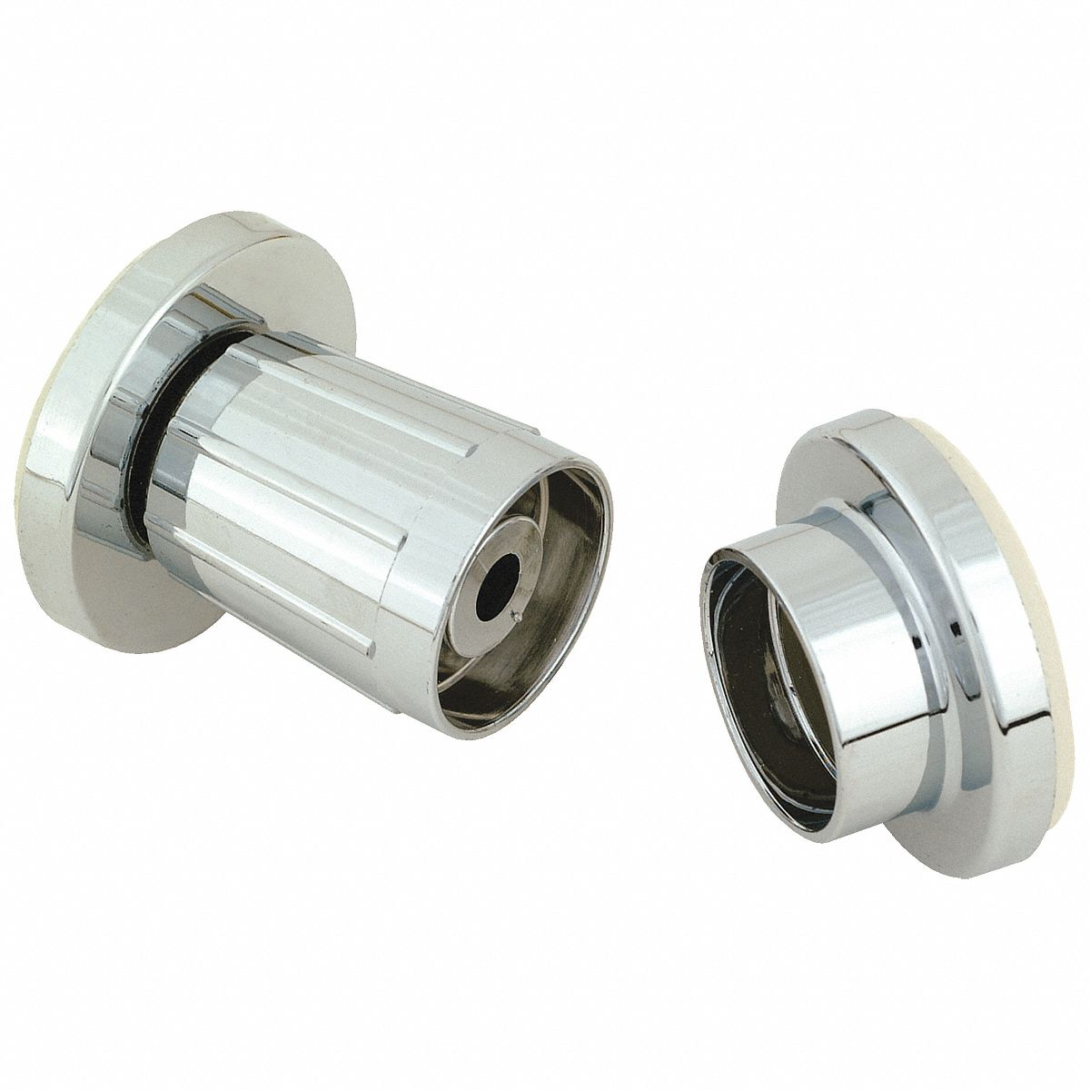01-9659 TAYMOR Zinc Alloy Rod Flanges,Bathroom,Polished Chrome,PR
