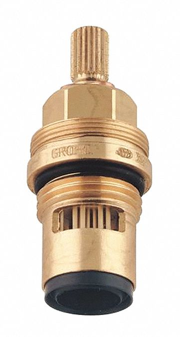 Faucet Cartridge,  Fits Brand Grohe,  Metal,  Unfinished Finish