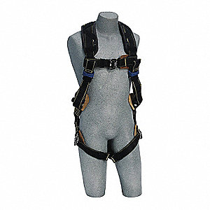 Delta™ Full Body Harness with 310 lb. Weight Capacity, Black, L