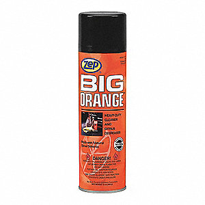 Cleaner, 15 oz. Aerosol Can, Citrus Liquid, Ready to Use, 12 PK