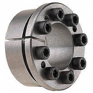 "Keyless Bushing, Multi-Screw Locking Assembly,  B106Series, For Shaft Dia. 1"",1.122"" L"