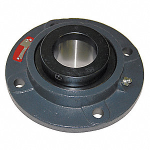 "4-Bolt Flange Bearing with Tapered Roller Bearing Insert and 1-1/2"" Bore Dia."