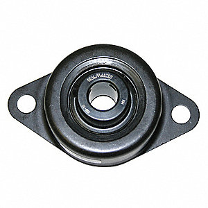 "2-Bolt Flange Bearing with Ball Bearing Insert and 7/8"" Bore Dia."