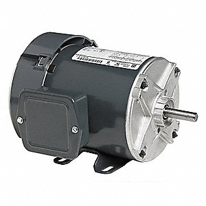 1/6 HP General Purpose Motor,Split-Phase,1725 Nameplate RPM,Voltage 115,Frame 48
