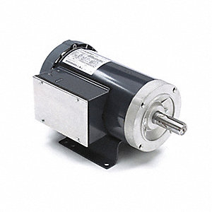 2 HP General Purpose Motor,Capacitor-Start/Run,1745 Nameplate RPM,Voltage 115/208-230,Frame 182T