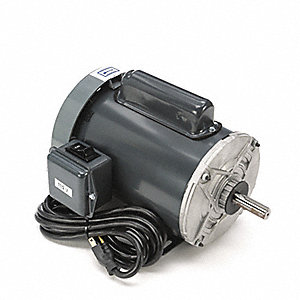 1-1/2 HP General Purpose Motor,Capacitor-Start,3450 Nameplate RPM,Voltage 115/230,Frame 56