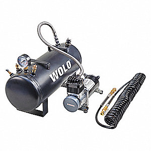 Air Horn Compressor >> Wolo Air Horn Compressor Kit 21a 6 1 2 Dia 44ec53 858 Grainger