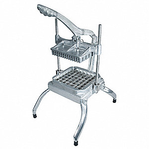 "Aluminum Lettuce Chopper with 1"" Cut Size"