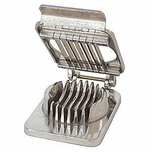 "Aluminum Mushroom Slicer with 1/4"" Cut Size"
