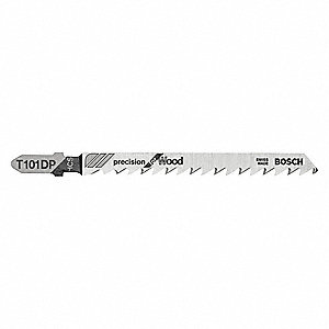 "17/64"" High Carbon Steel Jig Saw Blade, Shank Type: T"