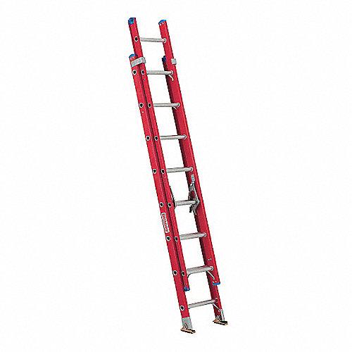 Westward escalera de extensi n de fibra de vidrio 16 pies - Escalera fibra de vidrio ...