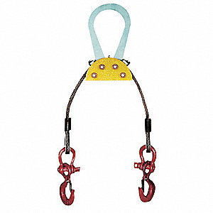 "Load Leveling Sling, 4,000 lb. Working Load Limit, 48"" Overall Length"