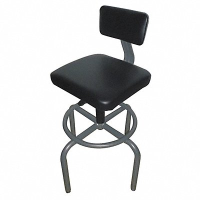 44N715 - Pneumatic Task Chair 250 lb Gray