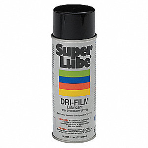 Dry Film Lubricant, 11 oz. Container Size, 11 oz. Net Weight