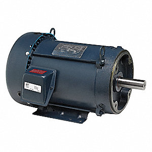 2 HP General Purpose Motor,3-Phase,3500 Nameplate RPM,Voltage 575,Frame 145TC