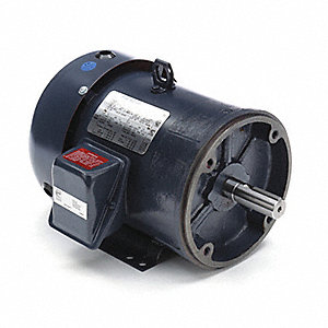 Motor,3-Ph,3 HP,1750 RPM,230/460V