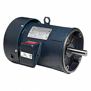 10 HP General Purpose Motor,3-Phase,1770 Nameplate RPM,Voltage 230/460,Frame 215TC
