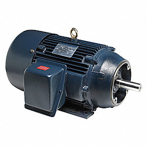 15 HP General Purpose Motor,3-Phase,3560 Nameplate RPM,Voltage 230/460,Frame 254TC