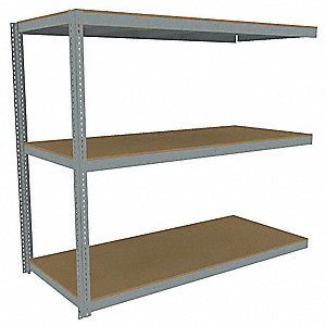 Boltless Shelving,84x48,Particleboard