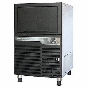 115V Dice Undercounter Ice Machine, Brown, 96 lb.