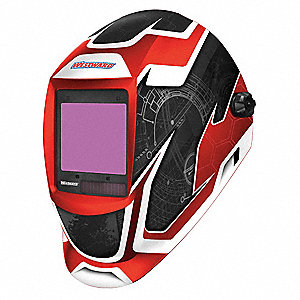 "Professional Series, Auto-Darkening Welding Helmet, 6 to 13 Lens Shade, 3.74"" x 3.34"" Viewing Area"
