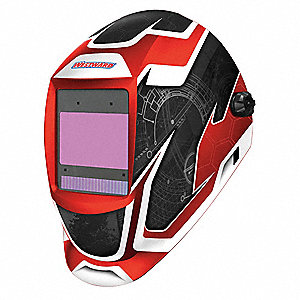 "Professional Series, Auto-Darkening Welding Helmet, 5 to 13 Lens Shade, 3.82"" x 2.44"" Viewing Area"