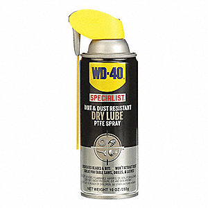 Dry Film Lubricant, -50°F to 500 Degrees F, PTFE, 17.6 oz. Aerosol Can