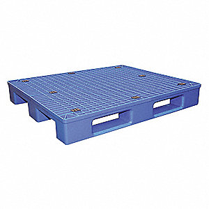 PALLET PLASTIC BLUE 48X40 8800 LBS