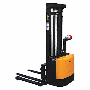ADJ POWERED STACKER 118IN RAISED