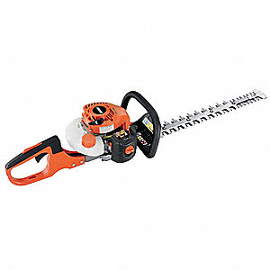 "Hedge Trimmer, Double-Sided Blade Type, 20"" Bar Length, 2 Stroke Engine"