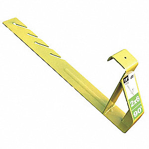 Roof Bracket, 19In., 90 degree,PK12